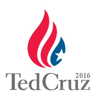 ted cruz flame logo